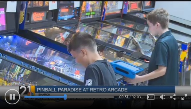 Sharon's Retro Arcade puts pinball back in style